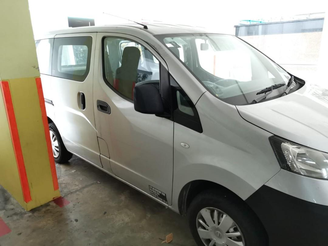 Nissan NV200 1.6A - rental available Apr 2020