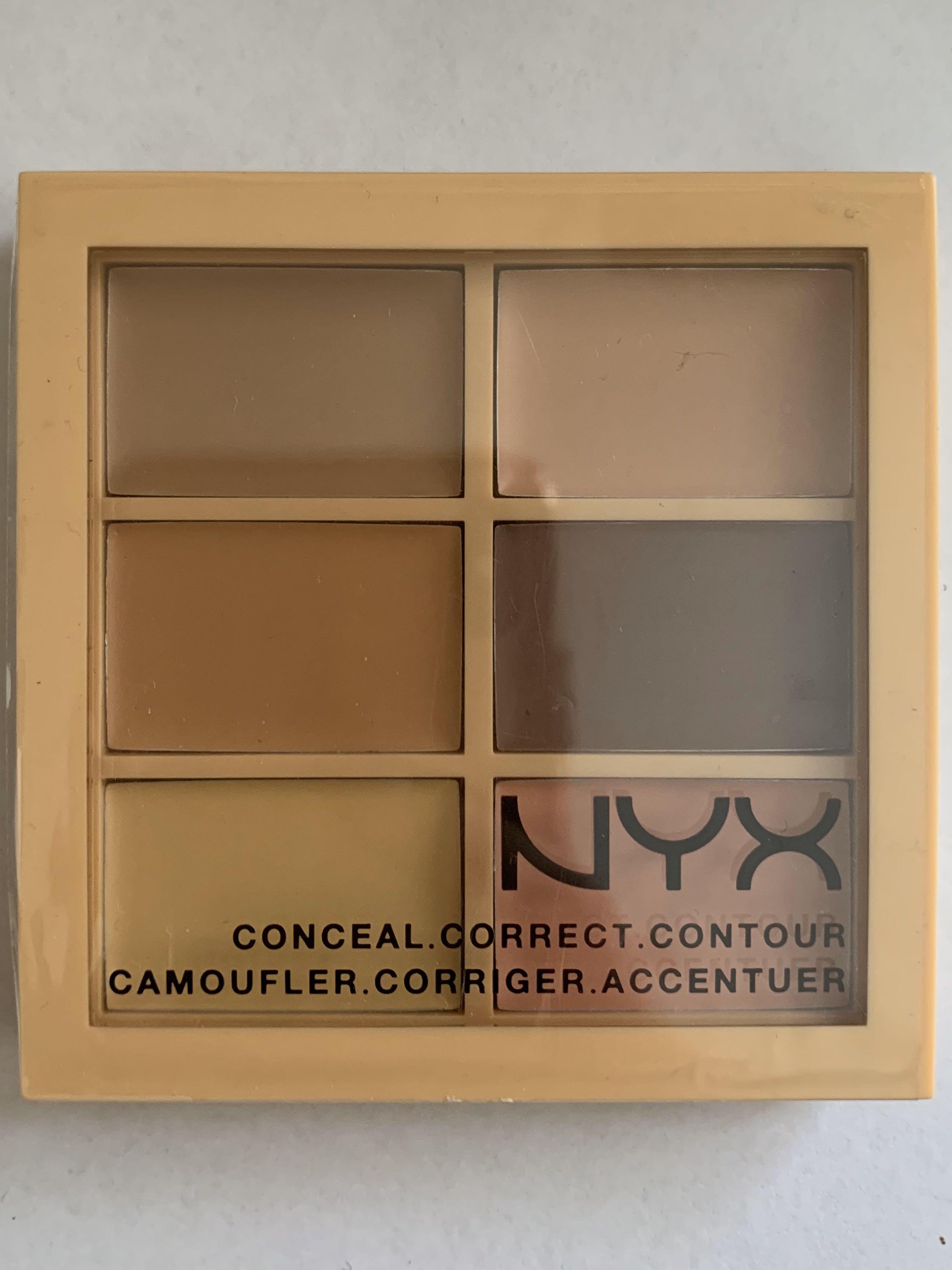 NYX - Conceal, Correct, Contour Palette - Fair/Light