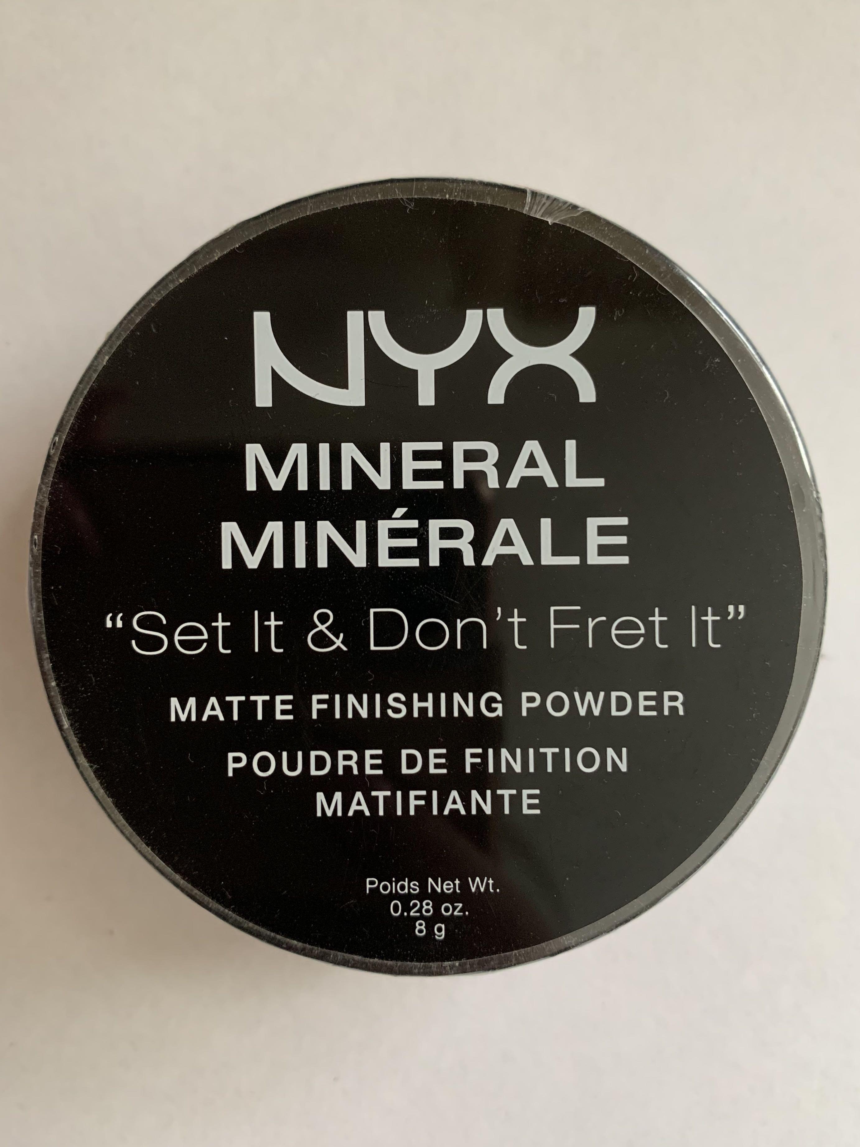 """NYX - """"Set It, Don't Fret It"""" Matte Finishing Powder - Light/Medium"""