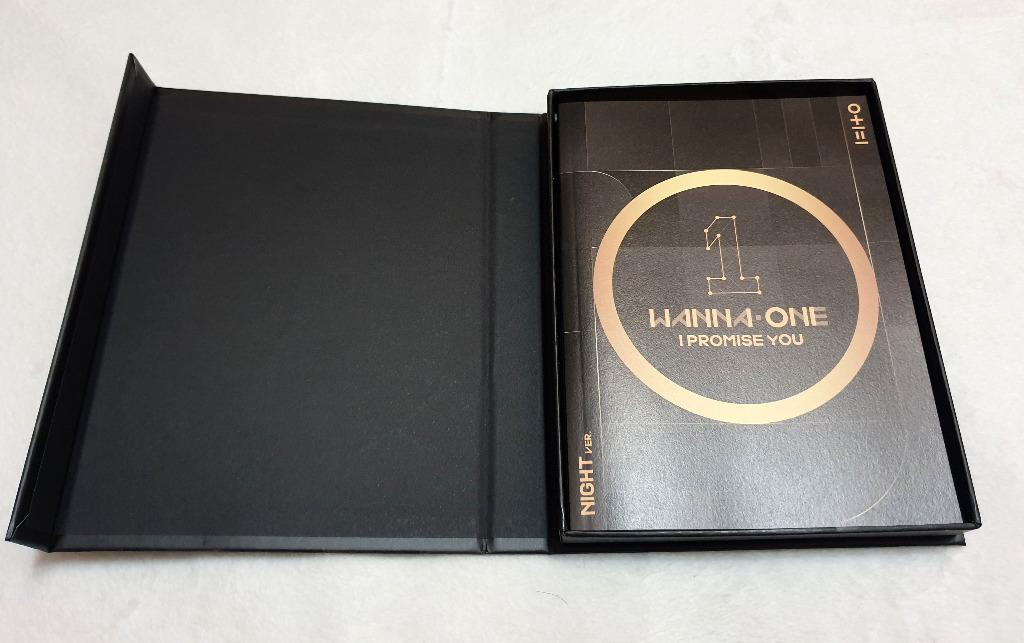 [Preloved] WANNA ONE - I PROMISE YOU (Night Ver.) Mini Album