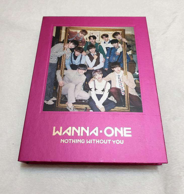[Preloved] WANNA ONE - NOTHING WITHOUT YOU (ONE Ver.)