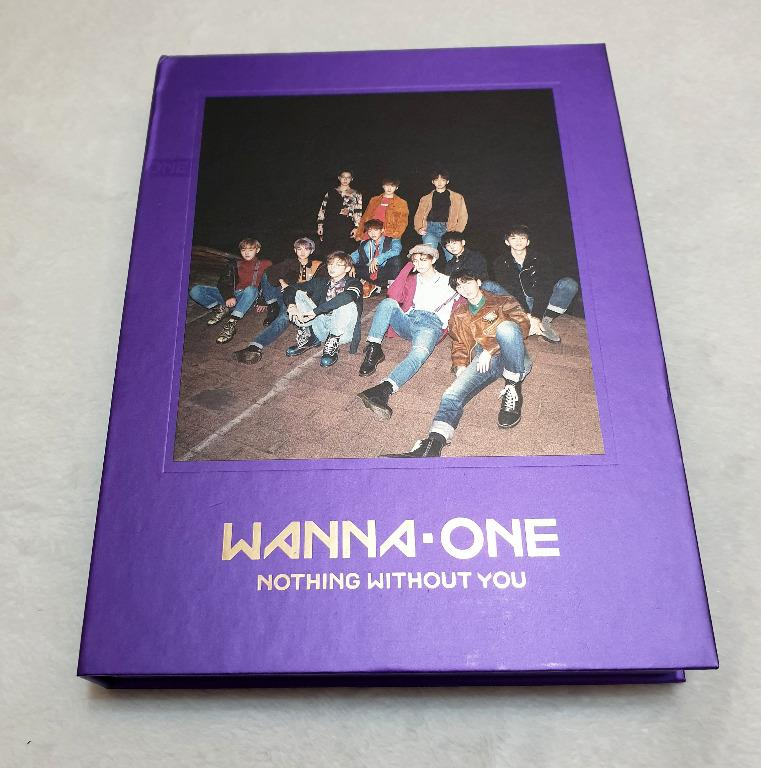 [Preloved] WANNA ONE - NOTHING WITHOUT YOU (WANNA Ver.)