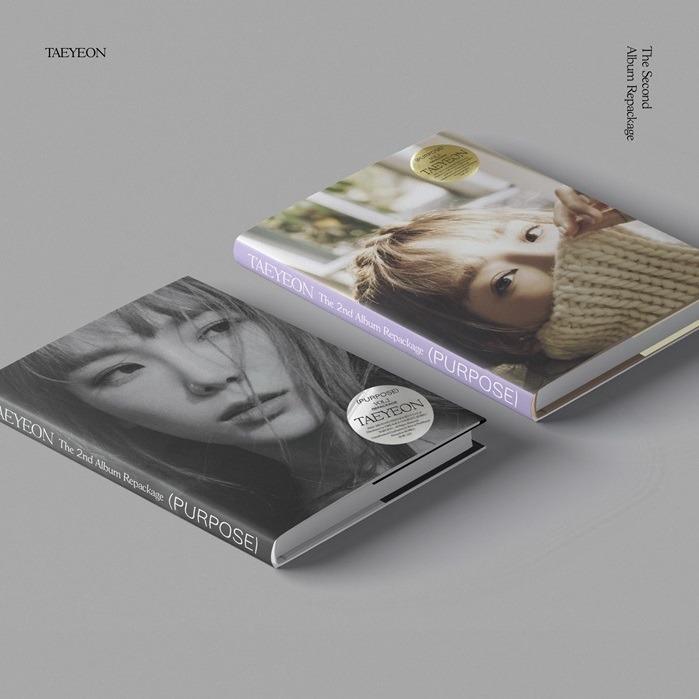 [PREORDER] TAEYEON 태연 - PURPOSE / 2ND ALBUM REPACKAGE