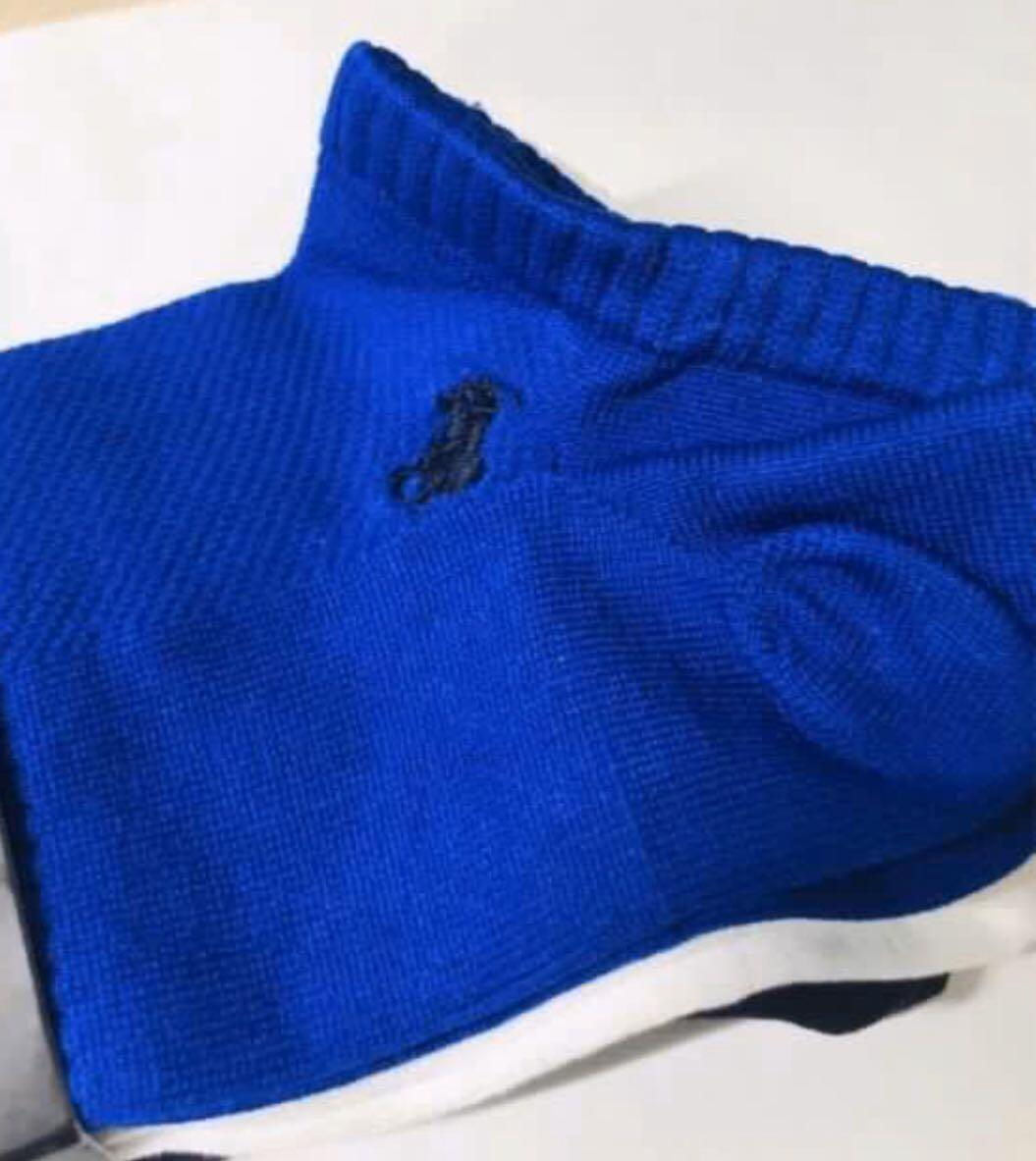 Ralph Lauren. RL. Polo. Technical Sport. Men's Low Cut Socks. Ultra Light and Smooth. PackOf3. AUTHENTIC