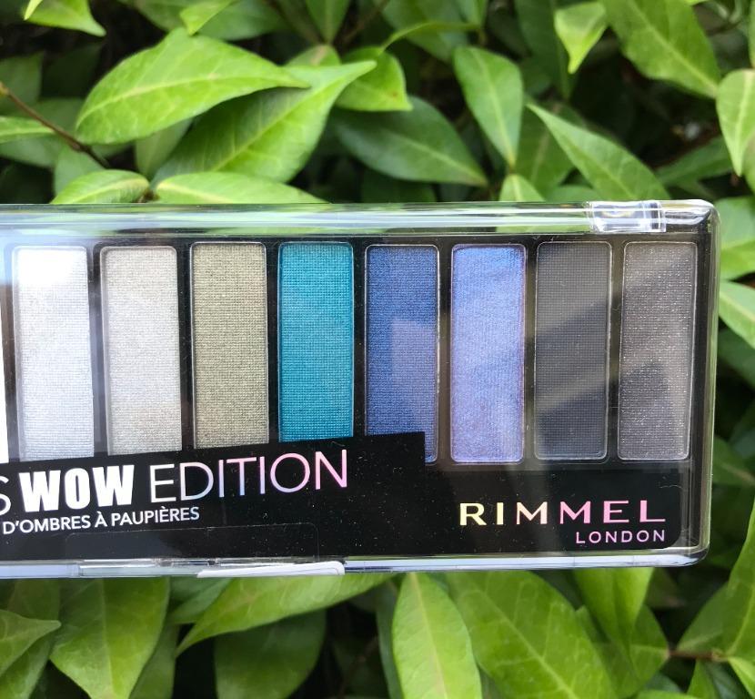 Rimmel London Colourful Magnif-Eyes Wow Edition Eyeshadow Palette