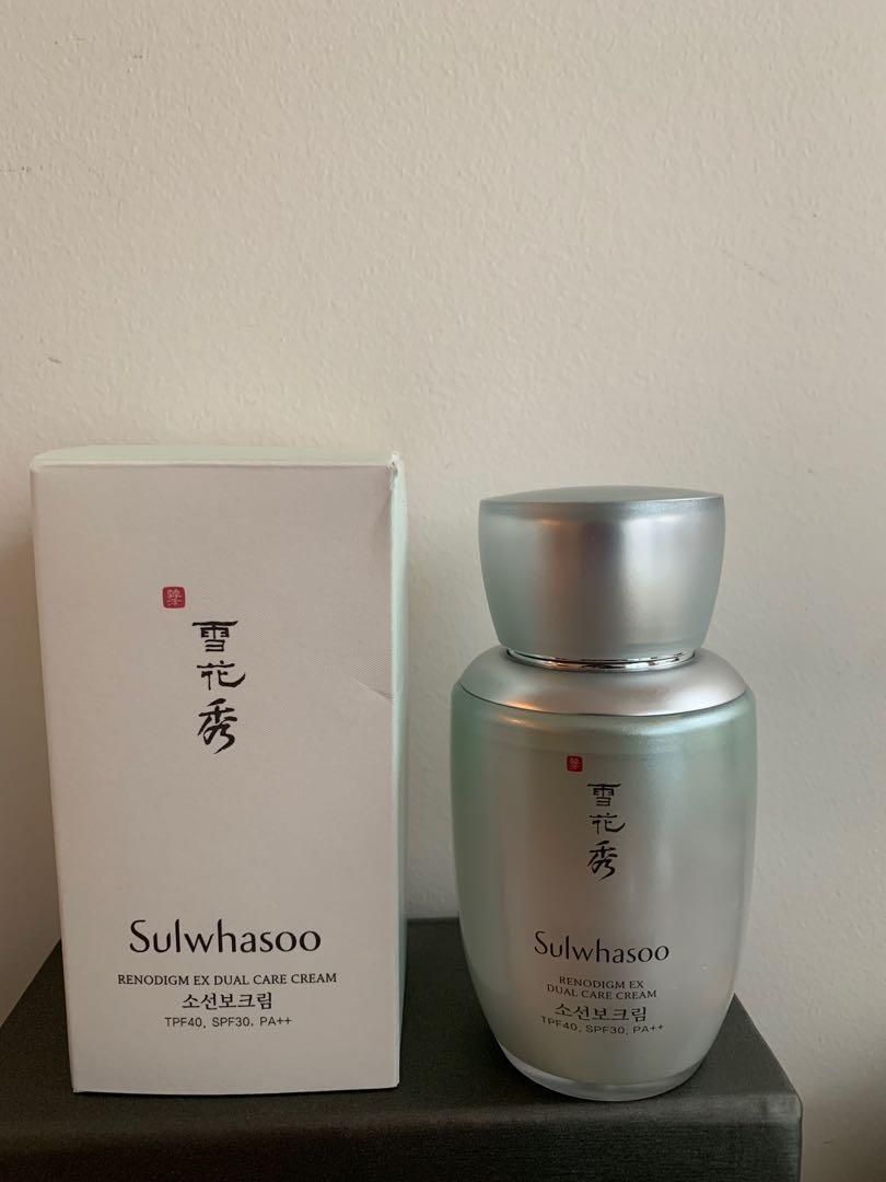 Sulwhasoo- Anti aging day cream -renodi ex dual care cream. With spf.30pa++
