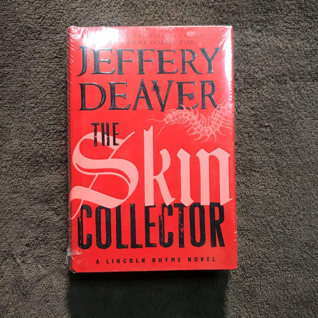 The Skin Collector by Jeffrey Deaver bestselling author of The Bone collector