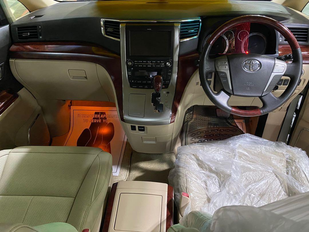 Toyota Alphard 3.5 GF 7-Seater Auto