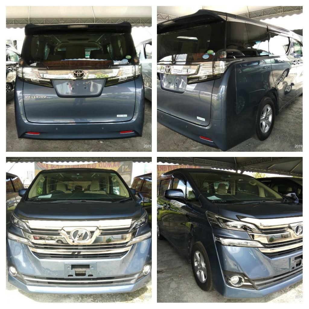 TOYOTA VELLFIRE 2.5 X SPEC RECON2015  ON THE ROAD PRICE RM173,888.88👍👍include Road tax fee 1year✔ 👍include Processing fee✔       👍include service engine oil fee✔ 👍include insurance fee✔ Support~NCB55% 1year Insurance free☺✔HP0122367272SENGSENG☺🙏