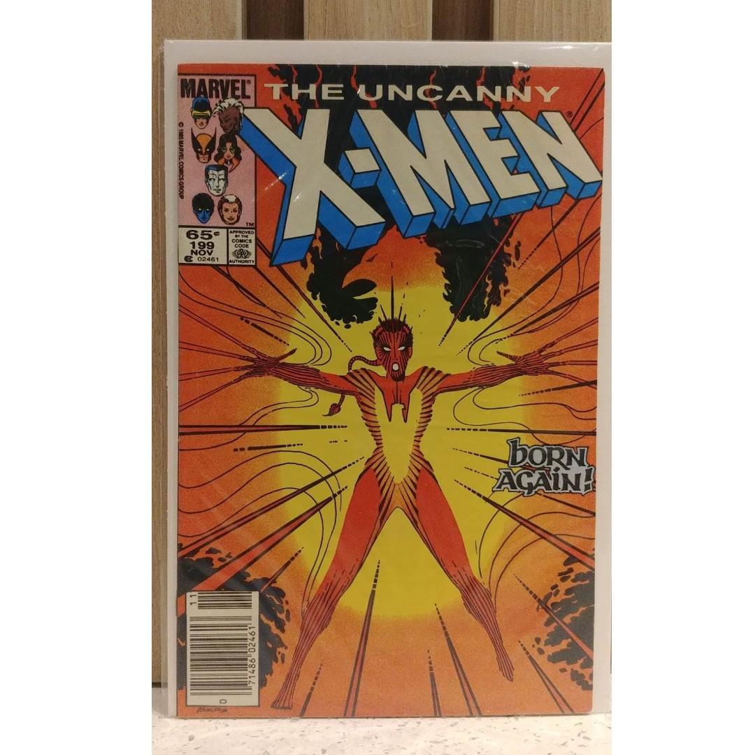 Uncanny X Men (1963 1st Series) # 199 Marvel Comics Published Nov 1985