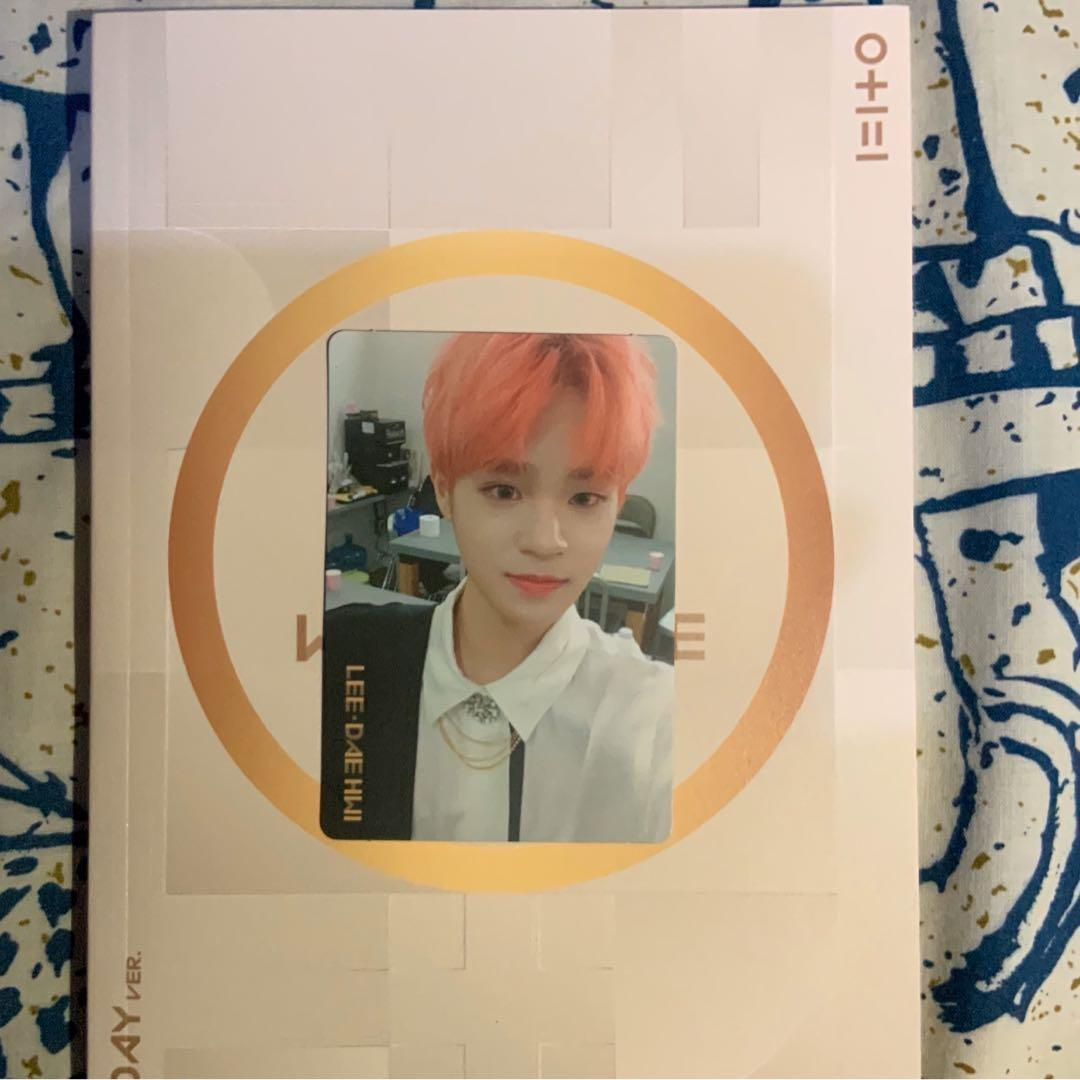 [WITH PC] WANNA ONE - I PROMISE YOU 0+1=1 ALBUM (DAY VER)