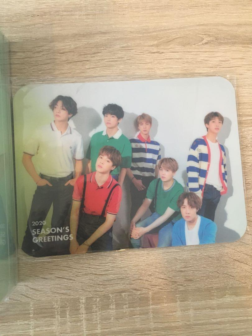 [WTS] BTS 2020 SEASON GREETINGS COMPLETE SET WITHOUT LENTICULAR PC