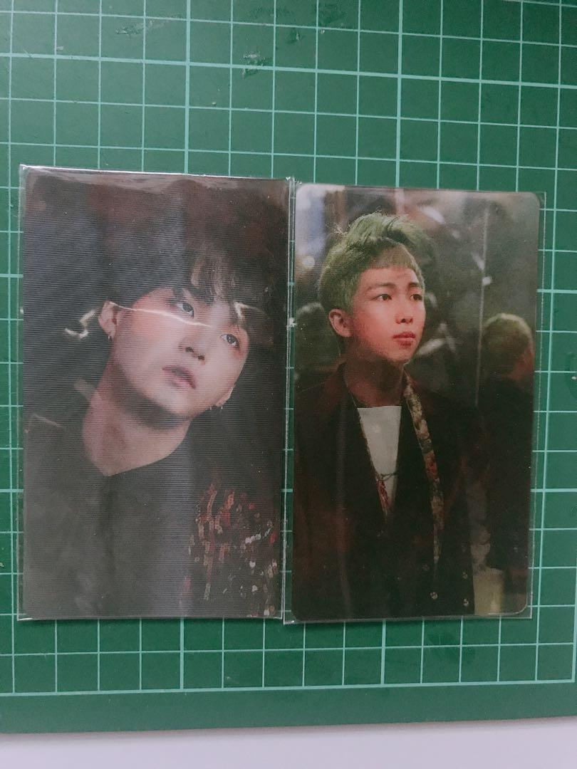 [WTS] BTS OFFICIAL PHOTOCARDS (RARE/DVD pc)