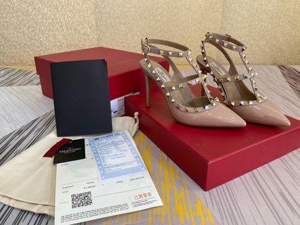 Sepatu Highheels LW2S1709, SUPERMIRROR,   Heel10cm, Sole Kulit, 35-40  H  @1.050.000