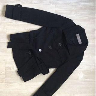 Zara Wool Coat - Black