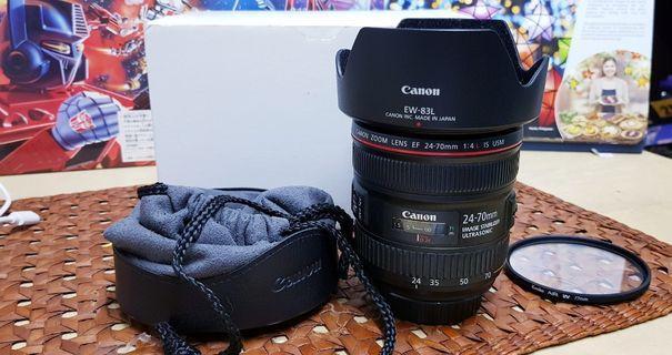 Canon 24-70mm f4L IS USM Pristine (CMP)