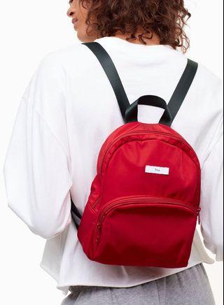 TNA mini red backpack