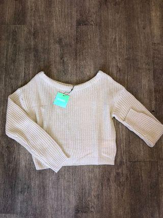 Misguided Off the Shoulder Knit