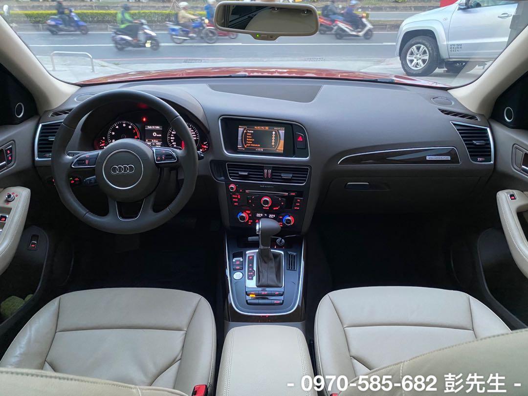 14年 AUDI Q5 40 TFSI Quattro 2.0