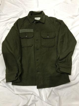 男朋友古著 _ 古著 og108 field wool shirt 70s 羊毛襯衫