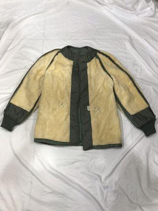 男朋友古著 _ 古著 60s usaf field jacket wool liner