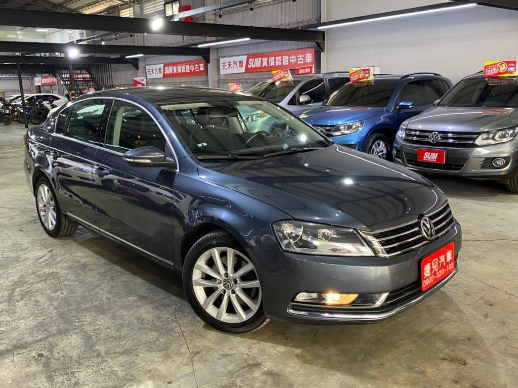 正2011年出廠 新款總代理 Volkswagen/福斯 Passat 2.0TDI BlueMotion