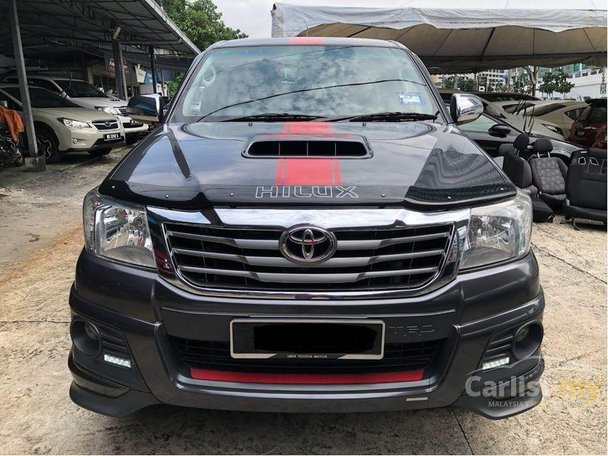 2015 Toyota Hilux 2.5 G (A) TRD Sportivo VNT One Owner Boot Cover   http://wasap.my/601110315793/HiluxGTRD