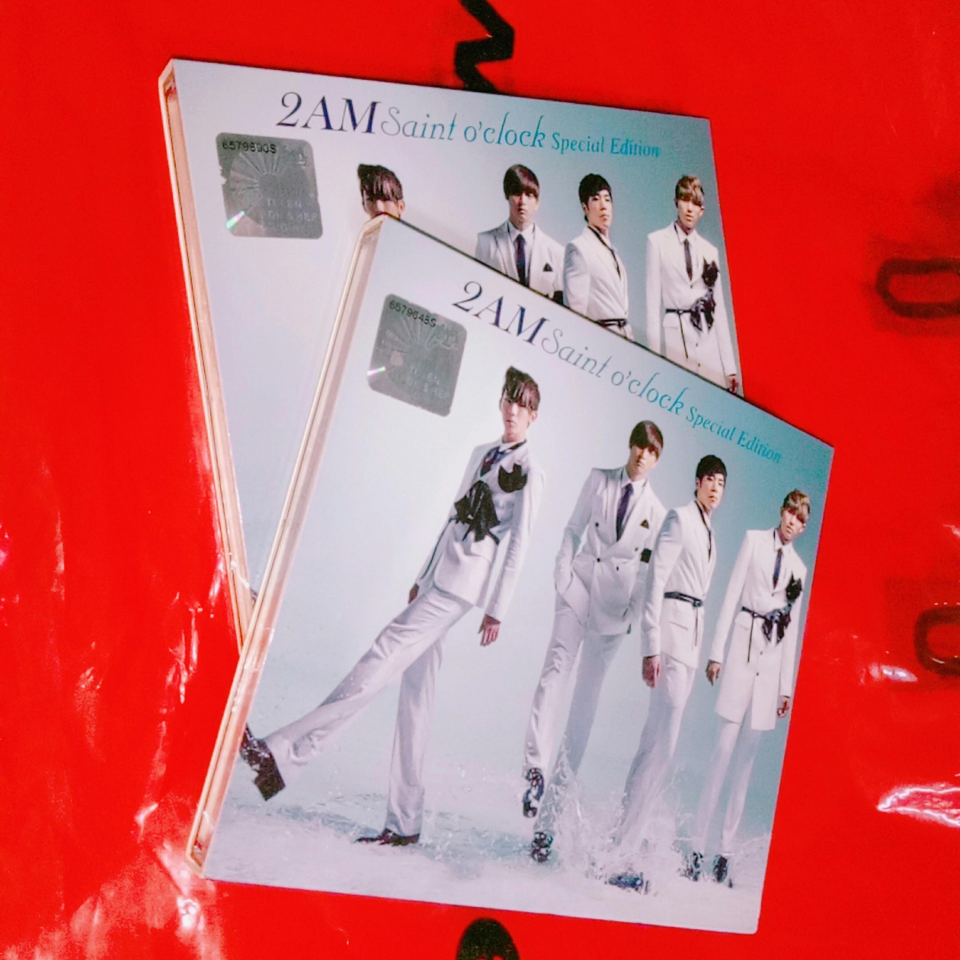 2AM Saint O'clock SPECIAL EDITION Jokwon Jinwoon Seulong Changmin Big Hit JYP