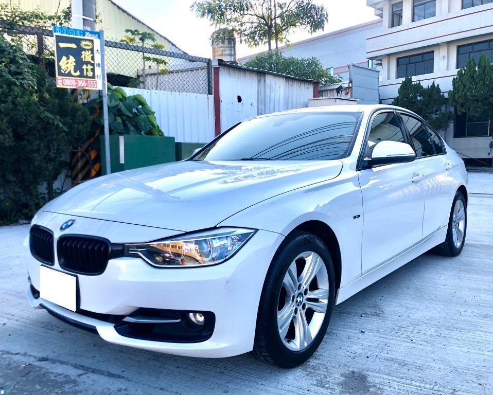 售 2012 BMW F30 320i Sport Line 總代理 一手車 無待修 免整理