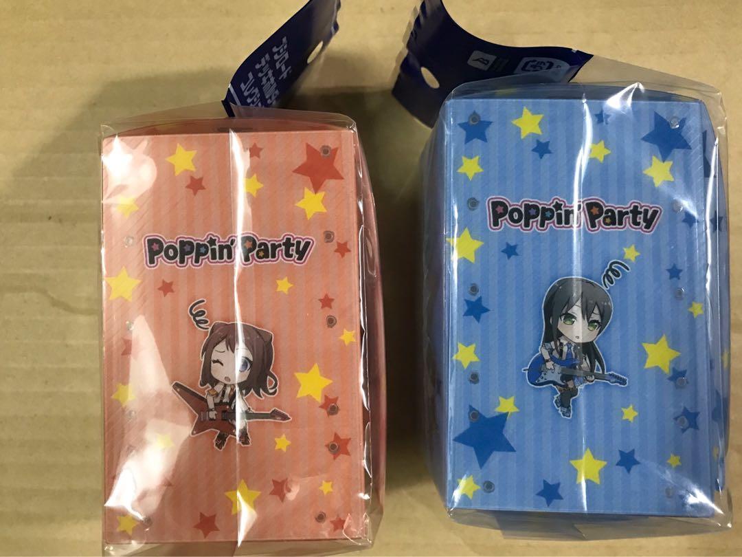 (清貨商品 )$80/2個 Bang Dream バンドリ 少女樂團派對 咭盒卡盒 - Poppin Party 戶山香澄 花園妙 たえ