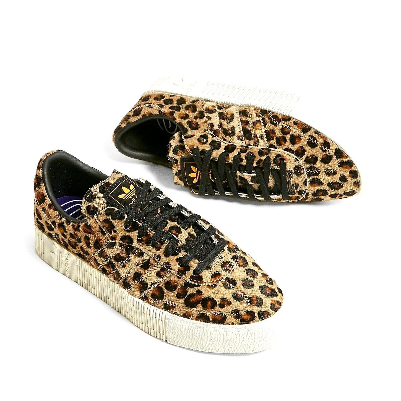 ADIDAS Originals Sambarose Leopard sz 39, Sports, Sports ...