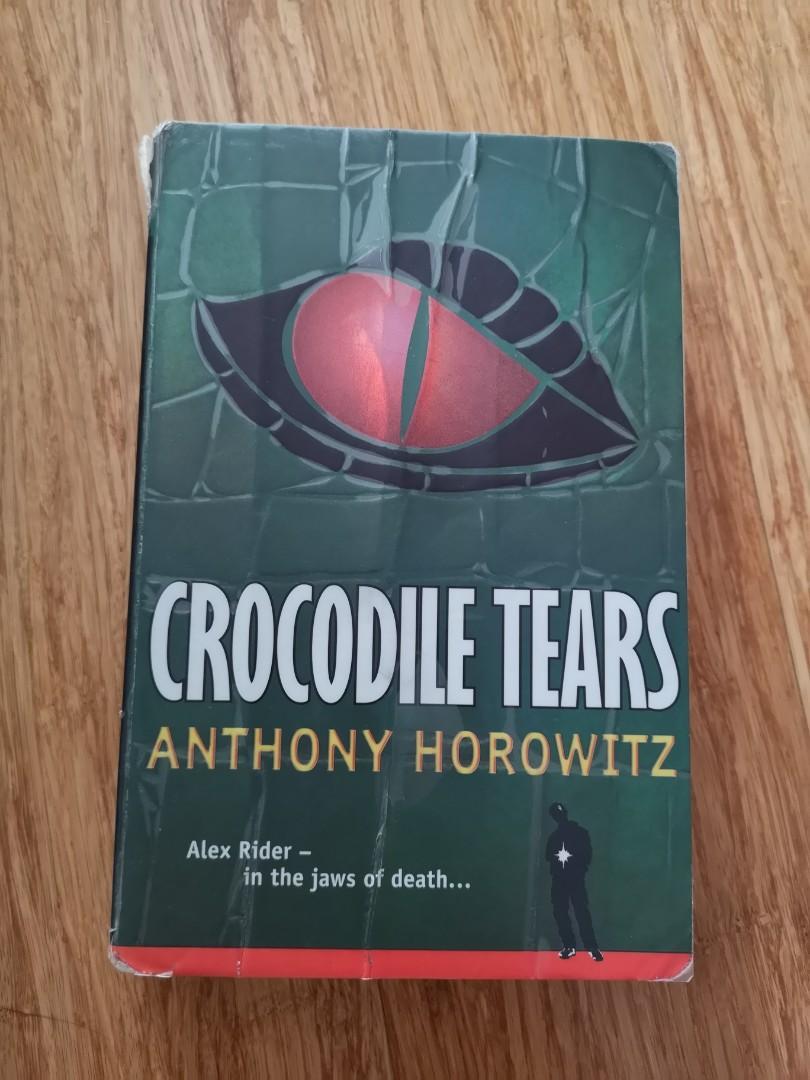 Alex Rider: Crocodile Tears by Anthony Horowitz paperback