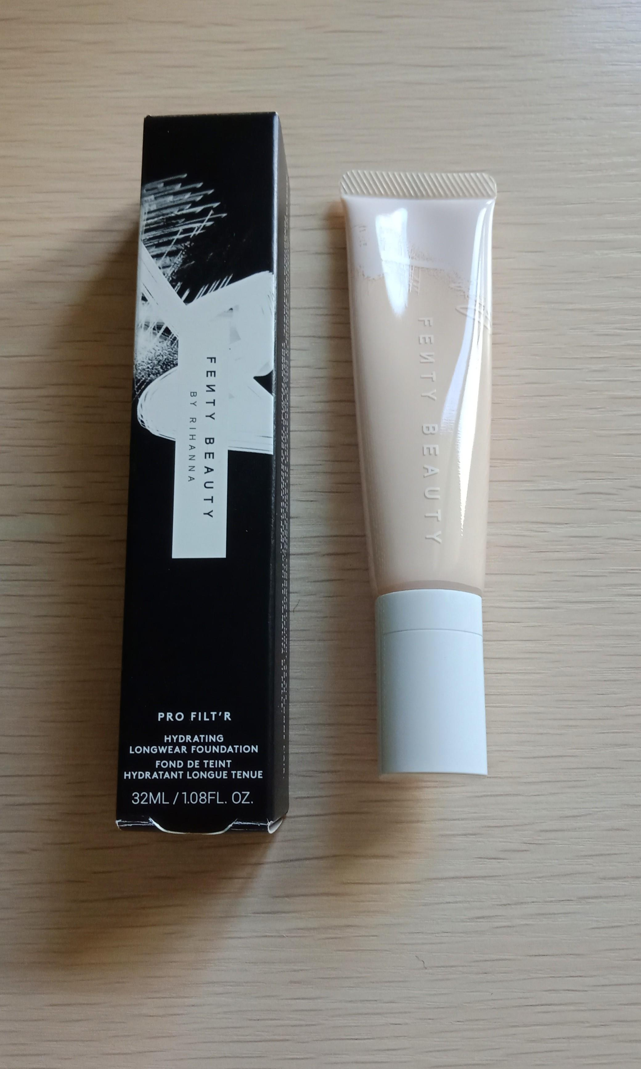Authentic fenty beauty hydrating foundation shade 110