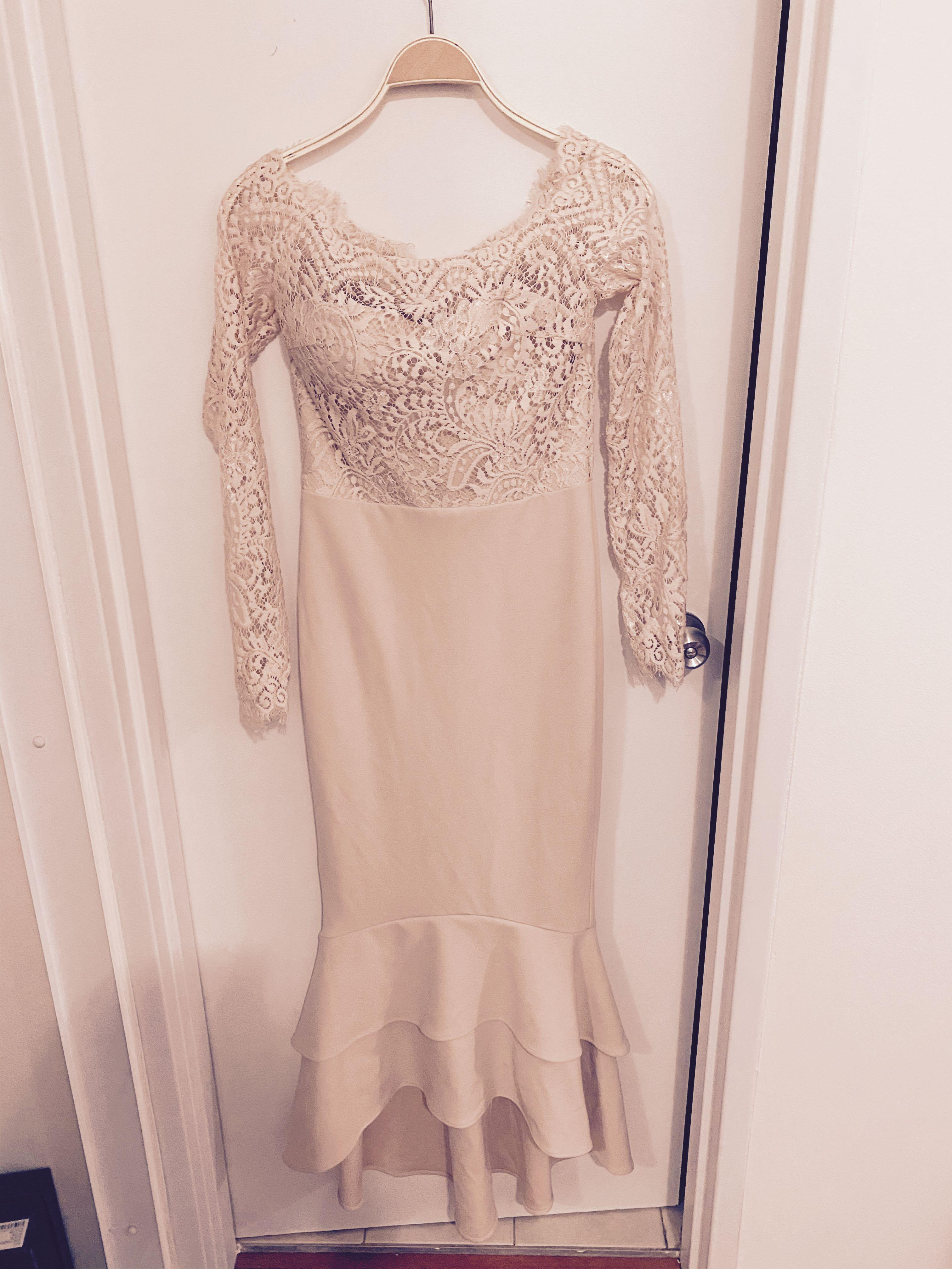 Beautiful formal dress - wore once as bridesmaid dress