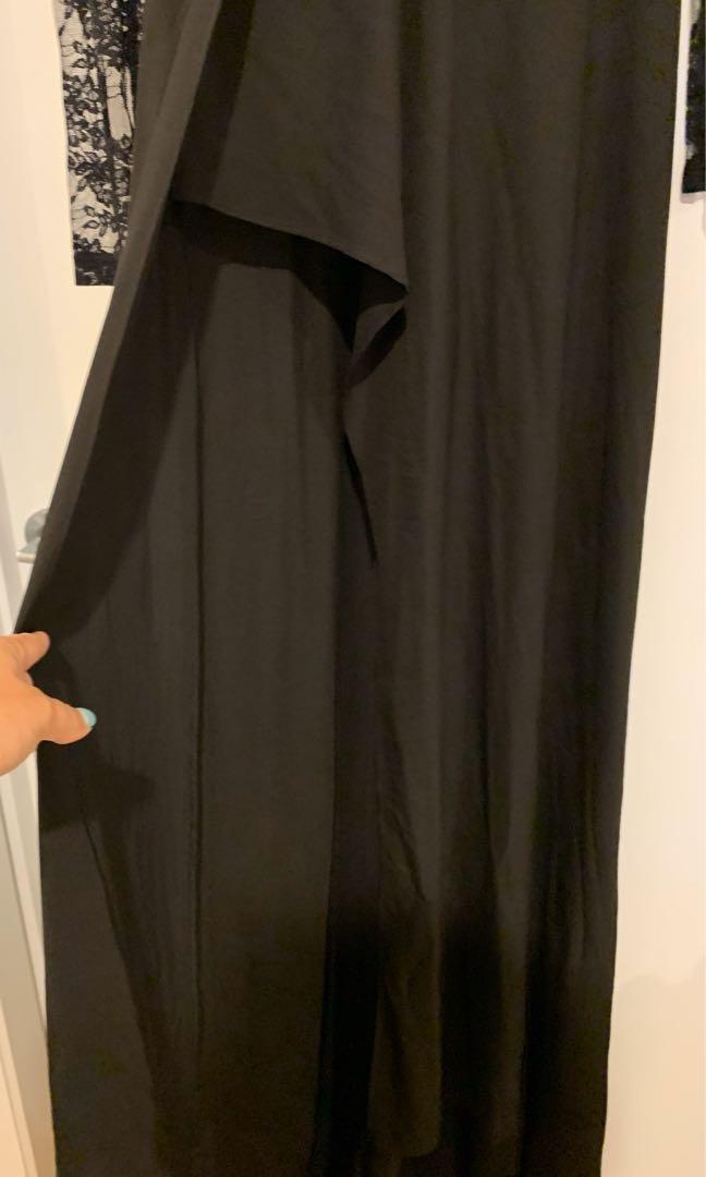 Black lace evening gown - Elle Zeitoune design size 12