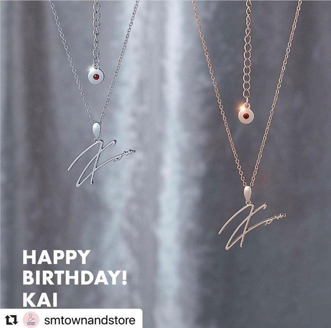 BUYING SERVICE] EXO KAI BIRTHDAY NECKLACE (PRE ORDER)