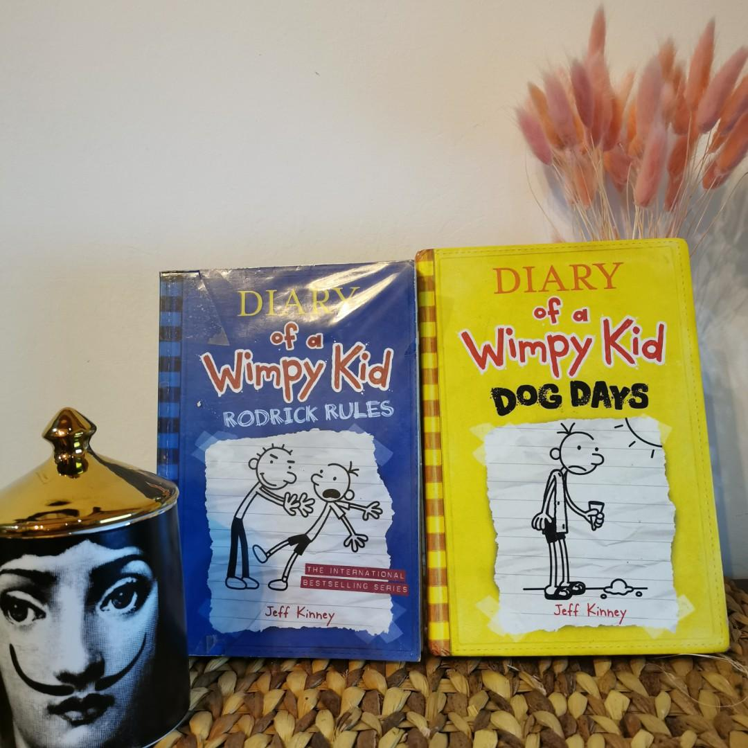 Diary of a Whimpy Kid - Jeff Kinney RODRICK RULES (paperback)