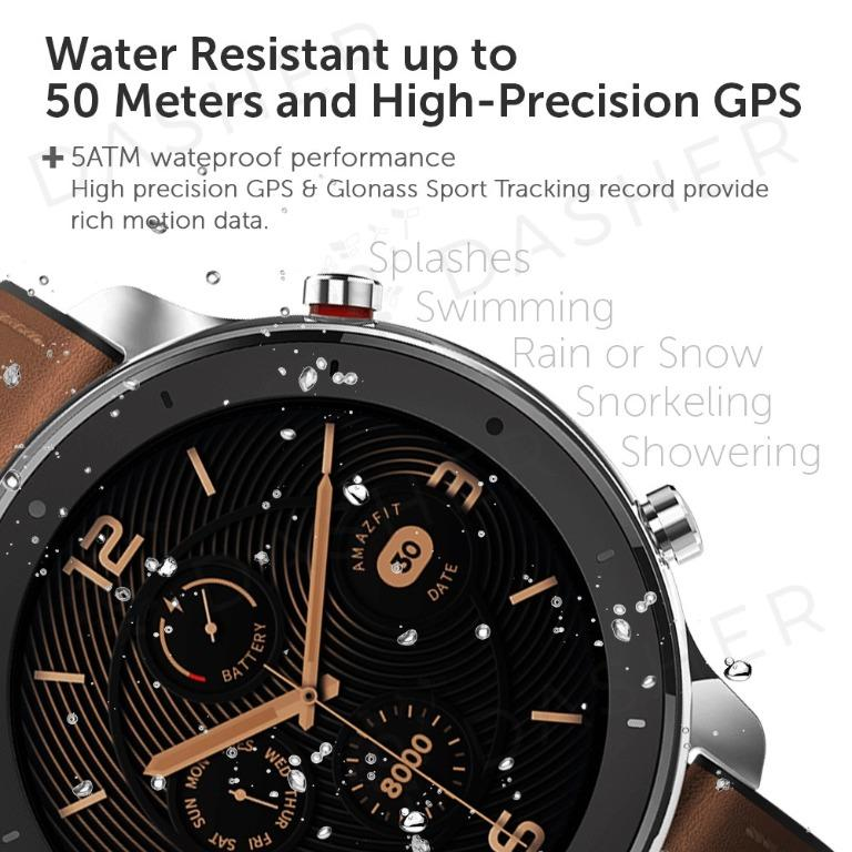 [ENGLISH] Amazfit GTR Smart Watch 42mm with AMOLED Xiaomi Mi Huami Watches