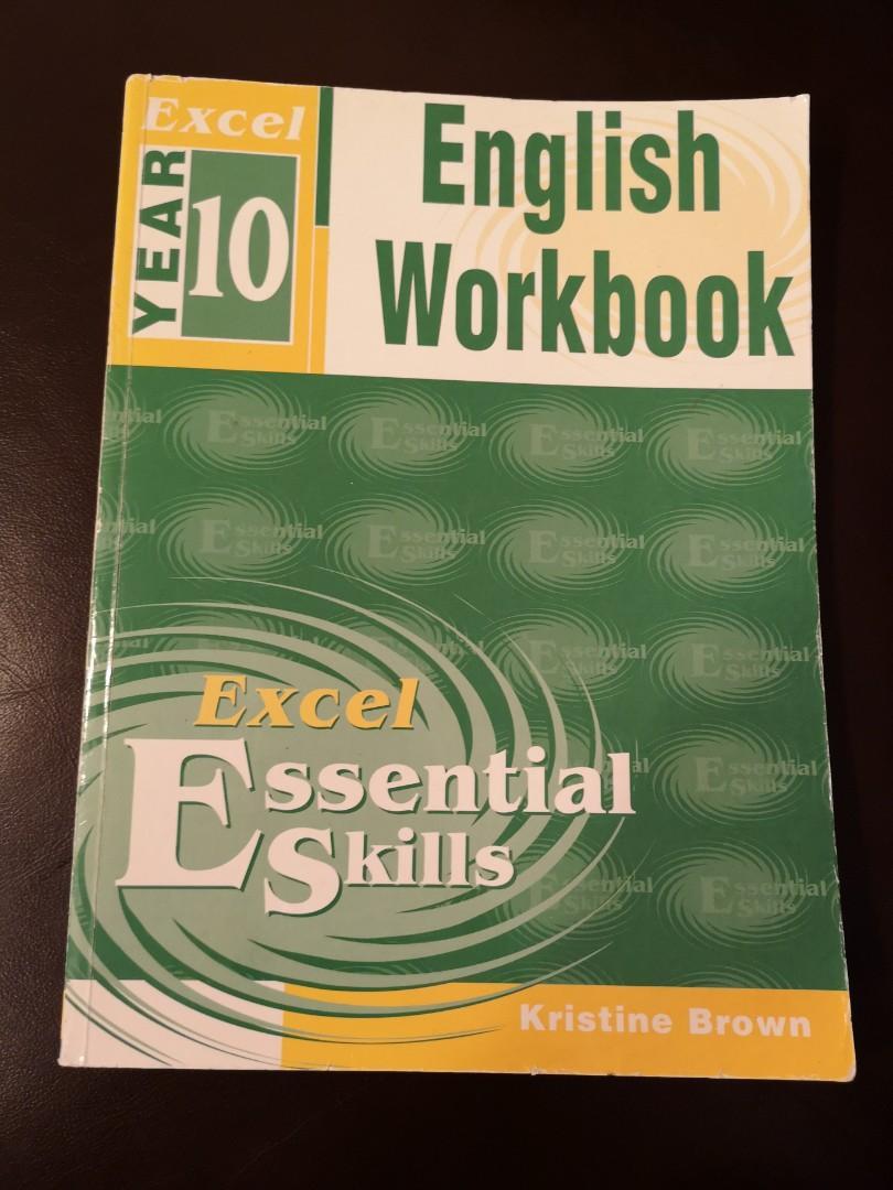 Excel Essential Skills English Workbook Year 10 by Kristine Brown