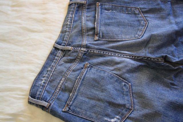 FRAME Women Straight Leg High Waisted Jeans Size 27