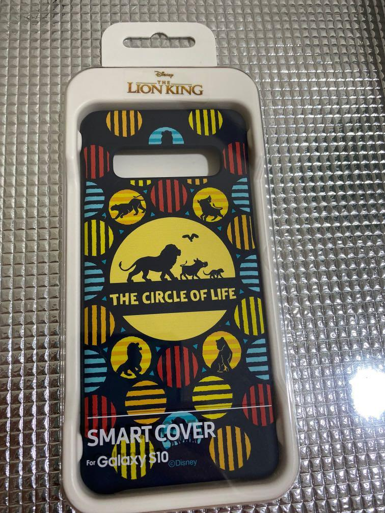 Galaxy S10 Samsung Smart Cover  (Lion King- LIMITED EDITION)