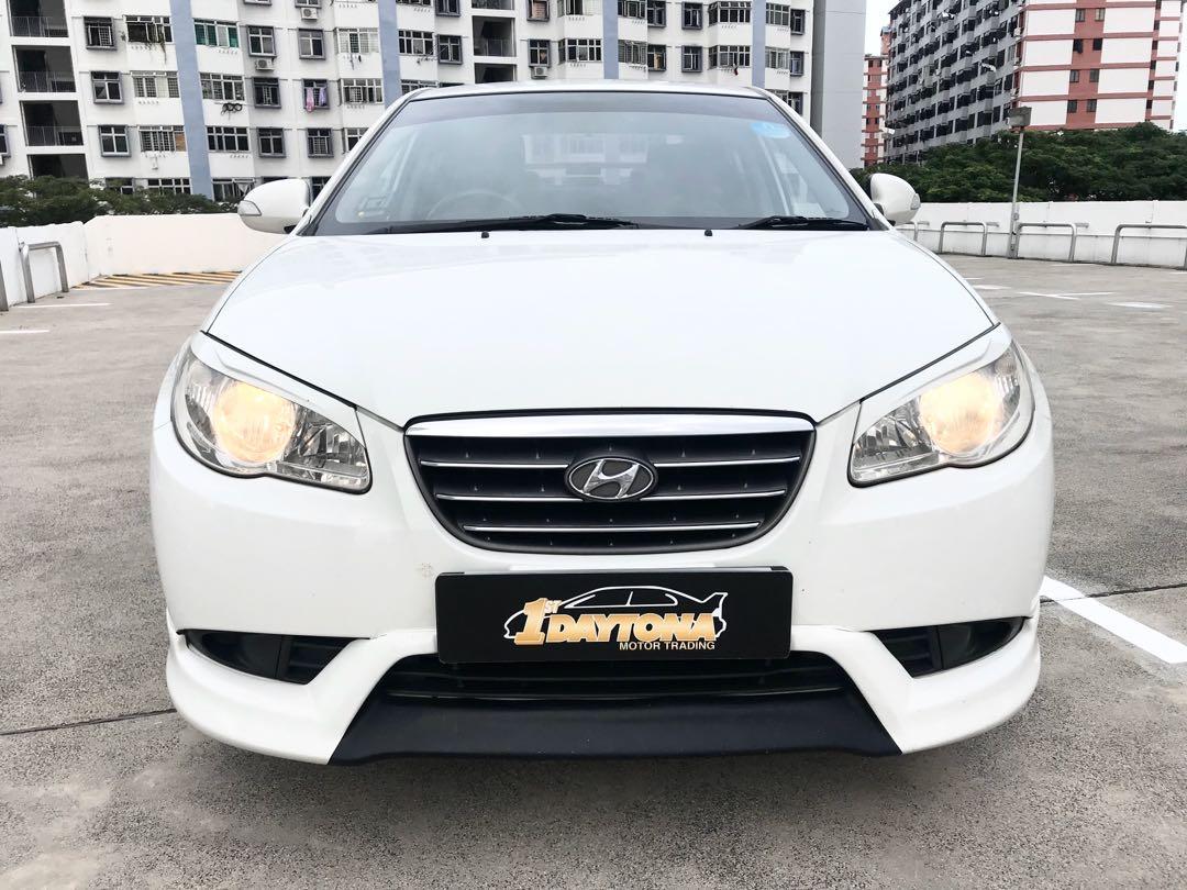 Hyundai Avante 1.6A S Sunroof New 5year Coe  Auto