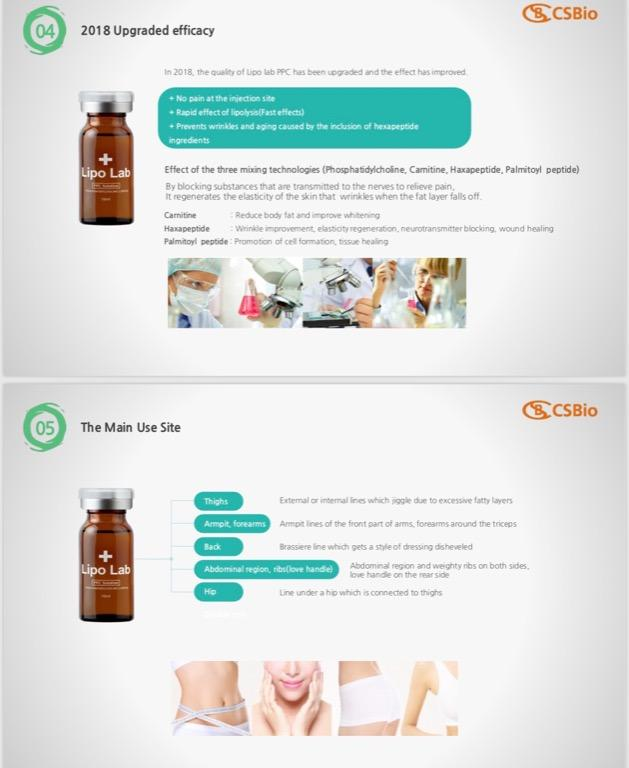 Lipo Lab PPC PREMIUM Lipolysis fat reduction product for double chin and body, cellulite