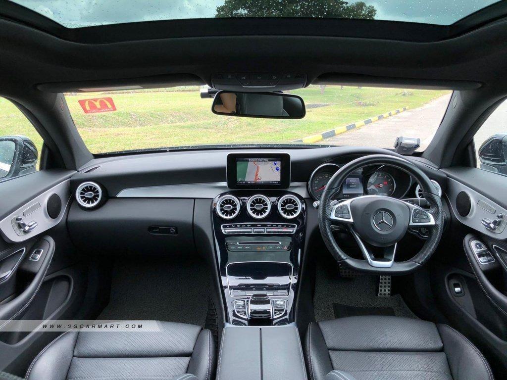 Mercedes-Benz C200 Coupe AMG Line Auto