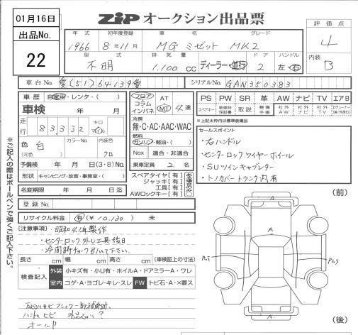 MG MK2 價錢面譏 Manual