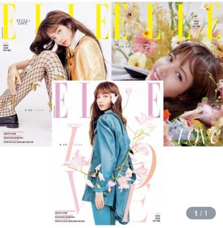 MY GO 🇲🇾 ELLE MAGAZINE FEBRUARY LISA BLACKPINK NCT JAEHYUN