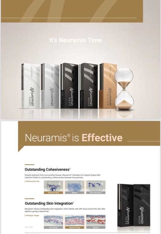 Neuramis Volume hylauronic acid dermal filler for fine lines wrinkles volume loss