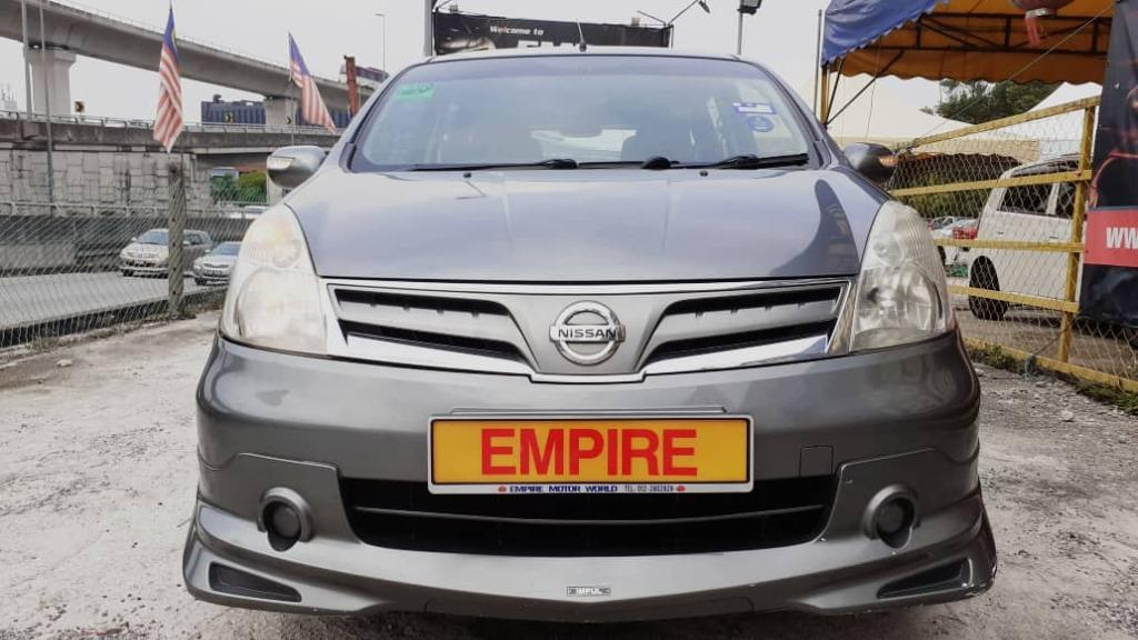NISSAN GRAND LIVINA 1.6 (A) LUXURY 7 SEATERS MPV !! IMPUL FULL BODYKIT !! NEW FACELIFT !! LIMITED EDITION !! PREMIUM MPV HIGH SPECS !! ( WXX 6776 ) 1 CAREFUL OWNER !!