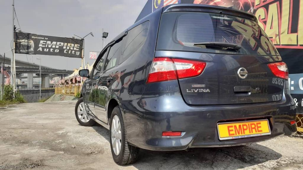 NISSAN GRAND LIVINA 1.8 (A) PREMIUM LUXURY 7 SEATERS MPV !! NEW FACELIFT !! LIMITED EDITION !! GRAPWHITE BLUE COLOUR !! PREMIUM MPV HIGH SPECS !! ( WX 9369 X ) 1 CAREFUL OWNER !!
