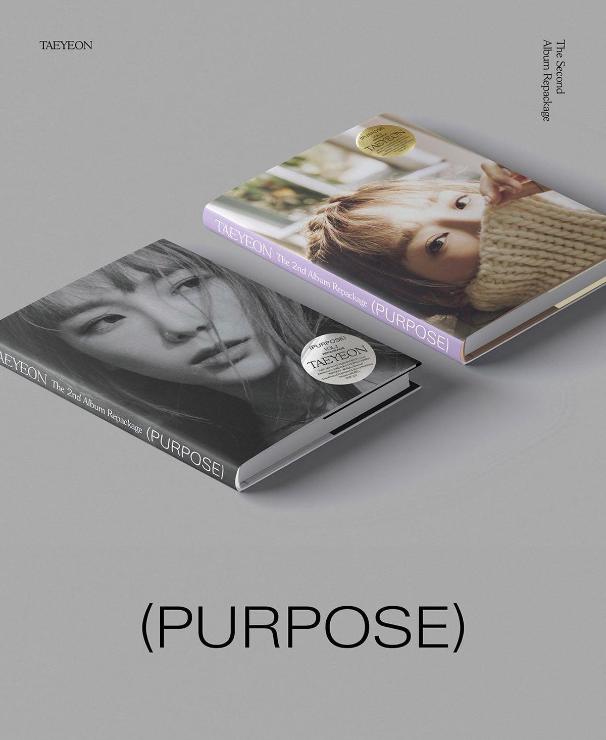 [Pre-Order] TAEYEON - Album Vol.2 Repackage (Purpose)